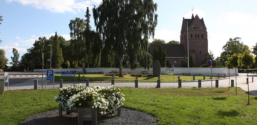 Stokkemarke, Torv og Kirke